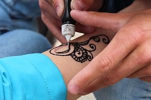 making tattoo